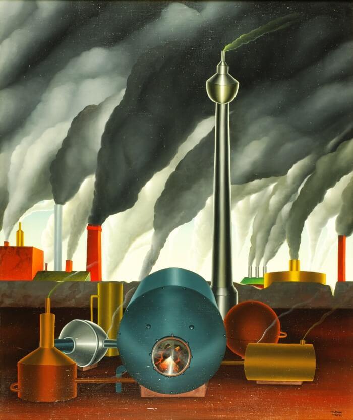 Rauchzeichen von Siegbert Hahn