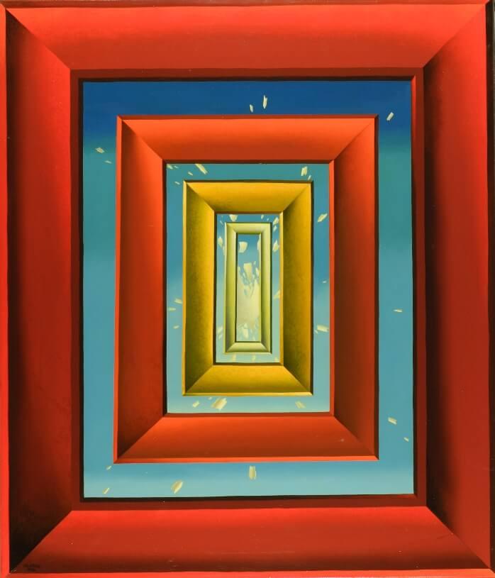 Das Ende des Tafelbildes von Siegbert Hahn