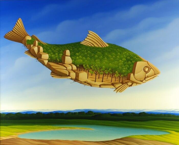 Der Waldfisch von Siegbert Hahn