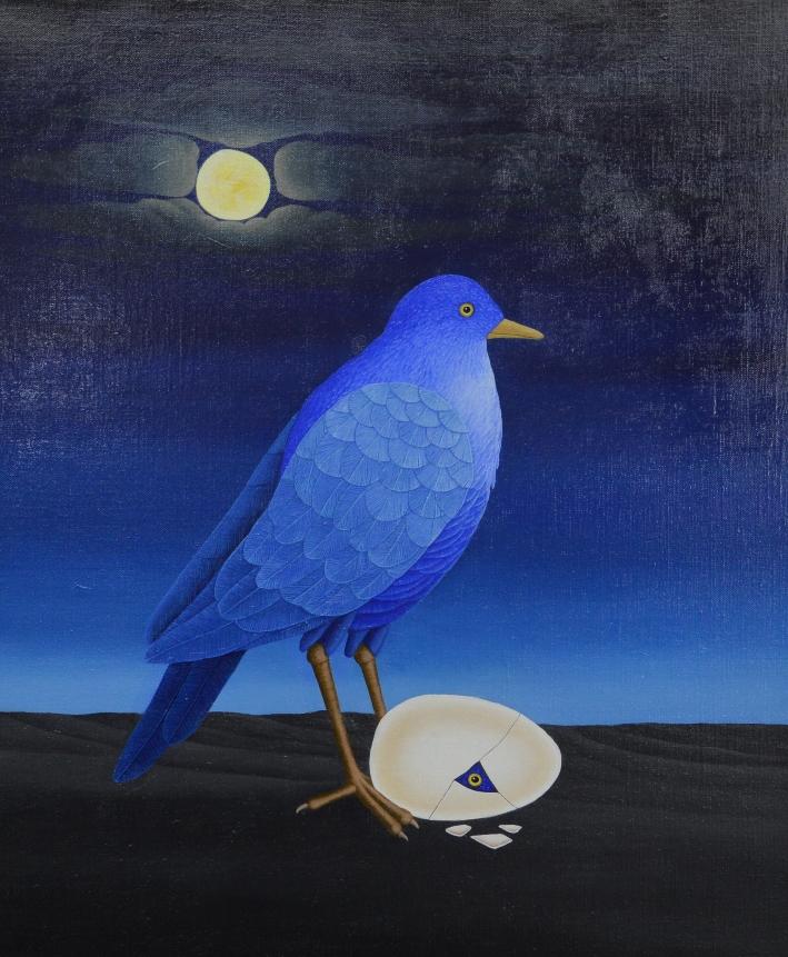 Der Mondvogel von Siegbert Hahn