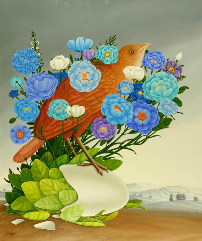 vogel der flora